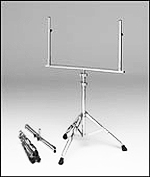 Chrome Double Brace Tripod Stand