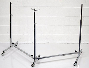 PS Chrome Double Stand