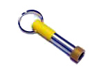 Rainbow Yellow Key Chain