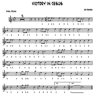 """Victory In Jesus"" by Brad Shores"