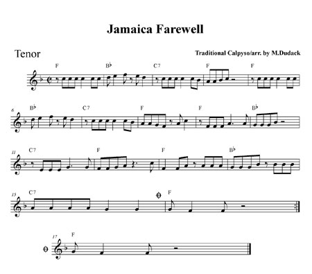"""Jamaica Farewell"" by Matt Dudack"