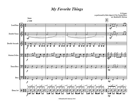 """My Favorite Things"" by Richard Rogers"