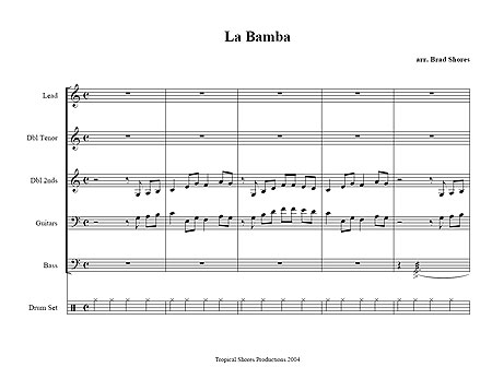 """La Bamba"" by Ritchie Valens"