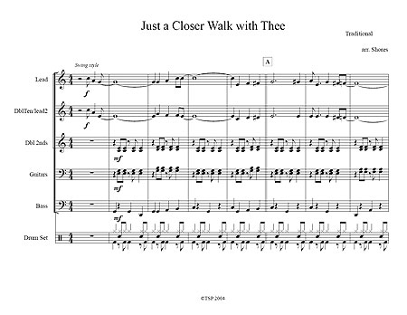 """Just a Closer Walk with Thee"" by Brad Shores"