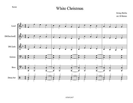 """White Christmas"" by Irving Berlin"