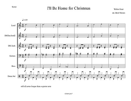 """I'll Be Home for Christmas"" by Walter Kent"