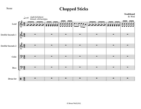 """Chopped Sticks"" by Euphemia Allen"