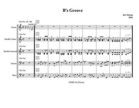 """B's Groove"" by Joe Moxon"
