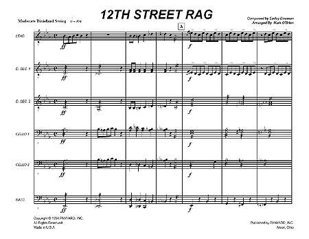 """12th Street Rag"" by Euday L. Bowman"