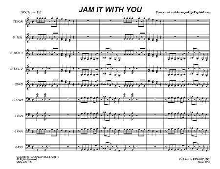 """Jam it With You"" by Ray Holman"