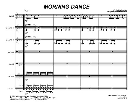 """Morning Dance"" by Jay Beckenstein"