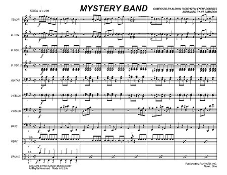 """Mystery Band"" by Aldwyn ""Kitchener"" Roberts"