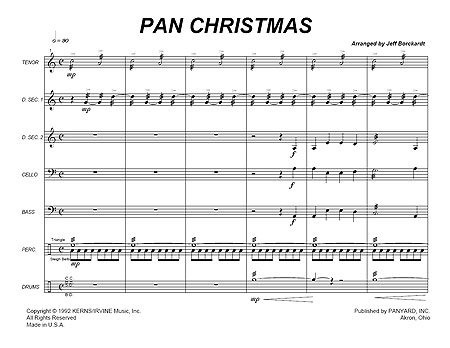 """Pan Christmas Medley"""