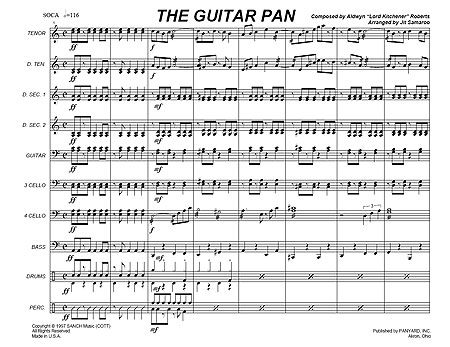 """The Guitar Pan"" by Aldwyn ""Kitchener"" Roberts"