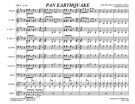 """Pan Earthquake"" by Aldwyn ""Kitchener"" Roberts"