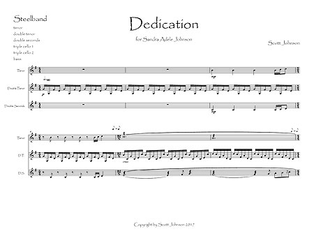 """Dedication"" by Scott Johnson"