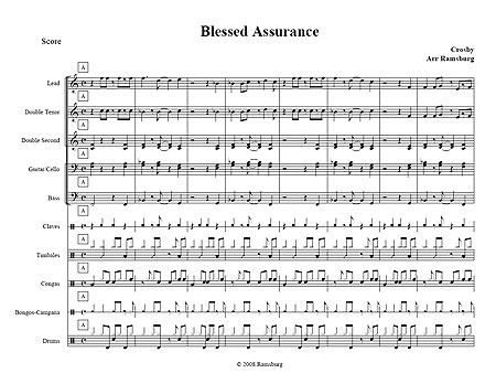 """Blessed Assurance"" by Fanny Crosby"