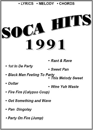 """1991""-Soca Hits Entire Book"