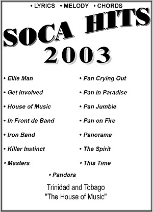 """2003""-Soca Hits Entire Book"