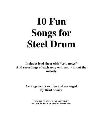 Download steel drum sheet music, download sheet music